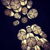 вися свет Стоковые Фотографии RF