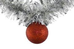 Вися шарик рождества Стоковые Фото