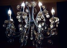 Вися электрические света интерьера стоковые фотографии rf