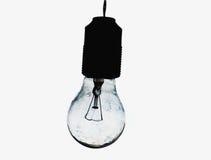 вися lightbulb Стоковая Фотография RF