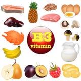 Витамина B 3. Начало еды завода внутри Стоковое Изображение RF