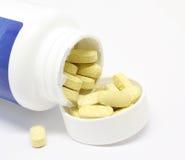 витамины бутылки стоковые фото