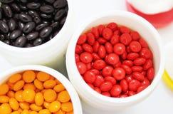 Витамины в фармации Стоковое Фото