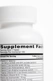 витамин бутылки Стоковое фото RF
