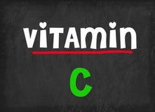 Витамин C на классн классном Стоковое Фото