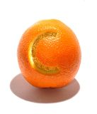 витамин c померанцовый вкусный Стоковые Фото