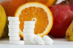 витамин c Стоковое Изображение RF