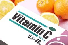 витамин c стоковое изображение