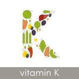 Витамин K иллюстрация штока