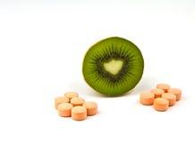 витамин kiwifruit короля c Стоковая Фотография