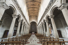 Витербо (Италия), duomo Стоковые Изображения