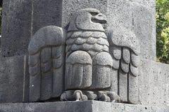 виток памятника орла мексиканский стоковая фотография rf