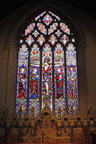 Витраж в церков в Lavenham, суффольке Стоковые Фотографии RF