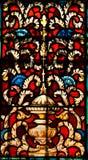 Витраж, собор Августин Блаженный, Флорида стоковое фото rf