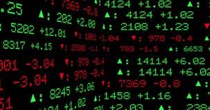 Витрина дисплея фондовой биржи акции видеоматериалы