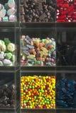 Витрина магазина с помадками Стоковое Изображение RF