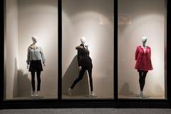 витрина моды Стоковая Фотография