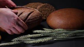 Витрины хлеба