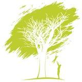 вихруны мира eco принципиальной схемы Отец и сынок Стоковые Изображения