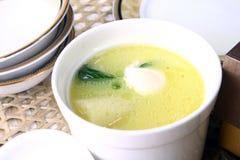 вихрун гриба еды яичек фарфора вкусный Стоковое Изображение RF