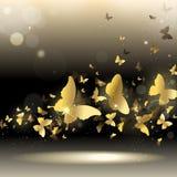 Вихрь бабочек бесплатная иллюстрация