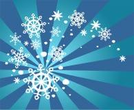 вихрь снежка иллюстрация штока