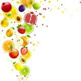 Вихрь сочного плодоовощ бесплатная иллюстрация