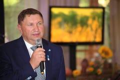 Вице-губернатор области Sergey Yakhnyuk v Ленинграда Стоковая Фотография RF