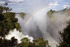 Вичториа Фаллс - Зимбабве Стоковое Изображение RF