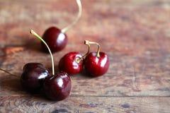 вишни деревянные Стоковое фото RF