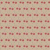 вишни делают по образцу безшовное Стоковые Изображения