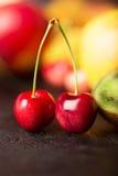 2 вишни другое приносить Стоковое фото RF