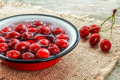 вишни свежие Стоковые Фото