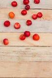 вишни свежие Стоковые Изображения RF