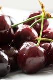 вишни сочные Стоковое Фото