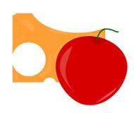 вишни сыра Стоковое Изображение