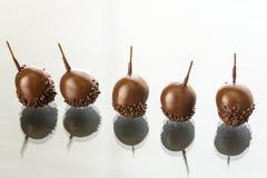 Вишни шоколада с настойкой и Арманьяком Стоковые Фотографии RF