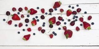 вишни ягод Стоковые Изображения