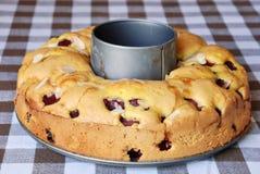 вишня торта Стоковая Фотография