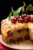 вишня торта стоковое фото