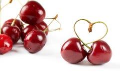 вишня ягоды Стоковое Фото
