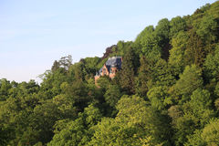 Вилла в лесе Стоковое Изображение RF