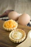 2 вида мини пирогов Стоковые Фотографии RF