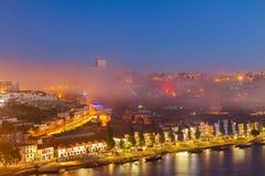 Вилла Нова di GayaVilla Порту, Португалии Стоковая Фотография