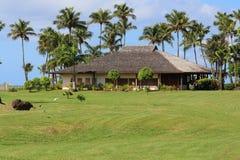 Вилла роскошного курорта, Гваделупы стоковое фото
