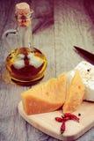 2 вида сыра Стоковое Изображение