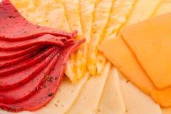 4 вида сыра Стоковые Фотографии RF