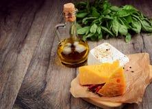 2 вида сыра Стоковые Изображения RF