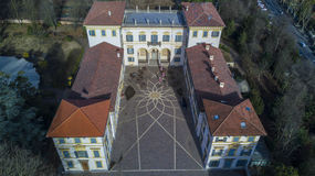 Вилла Borromeo и парк, Senago, Италия Стоковые Фото