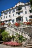 Вилла Carlotta, озеро Como, Италия Стоковое Изображение